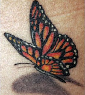 Amaizing butterfly tattoo