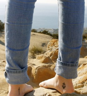 Amaizing foot tattoo