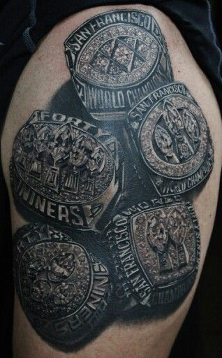 Amaizing football tattoo