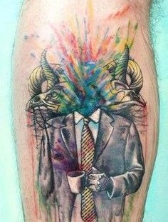 Amaizing watercolor tattoo