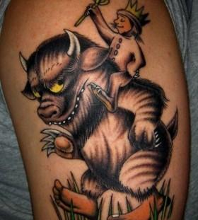 Amaizing wild tattoo