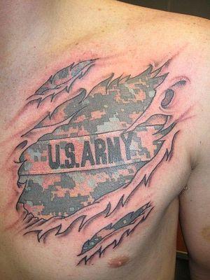 Army tattoo