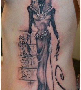 Awesome Egypt style tattoo