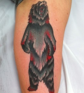 Bear wild tattoo