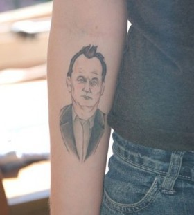Bill Murray famous people tattoo
