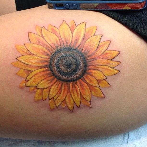 Cool Sunflower Tattoo Tattoomagz Tattoo Designs Ink Works