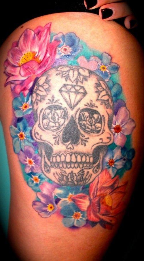 Crystal Skull Tattoo Crystal Skull Tattoo