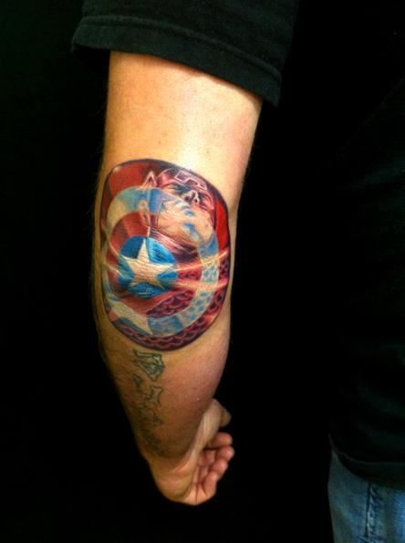 Star American Flag Tattoo Flag And Star American Style