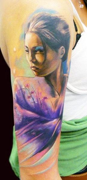 584f016bd Geisha tattoo by Adam Kremer - | TattooMagz › Tattoo Designs / Ink ...