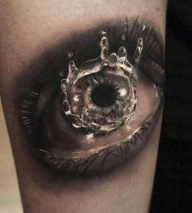 Gorgeous eye realistic tattoo