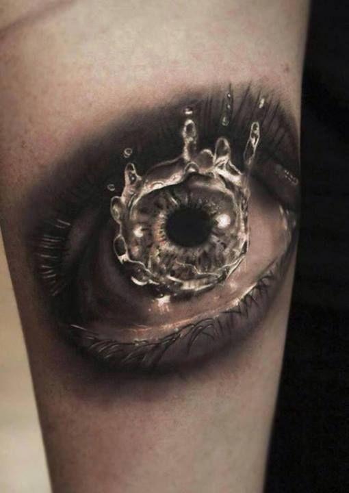 Gorgeous eye realistic tattoo