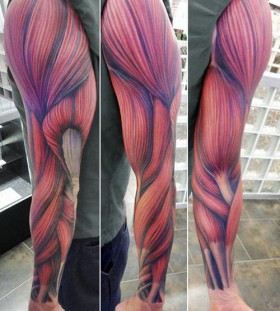 Gorgeous realistic tattoo