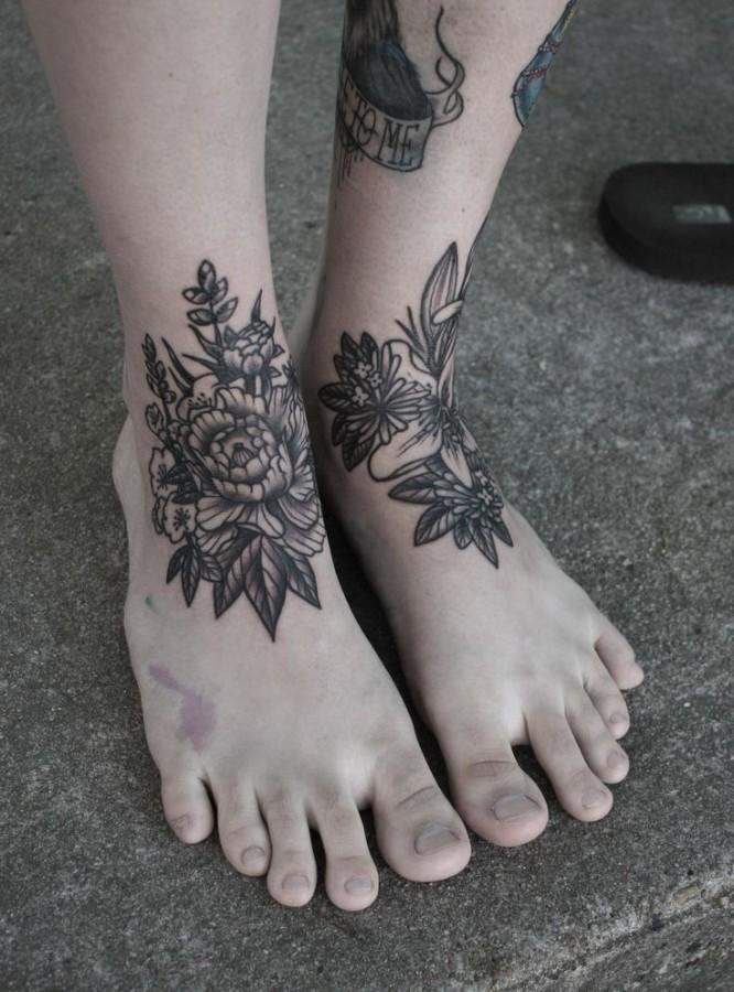 Lovely foot tattoo