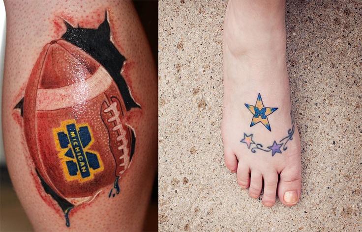 Man football tattoo