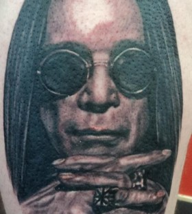 Ozzy Osborne famous people tattoo