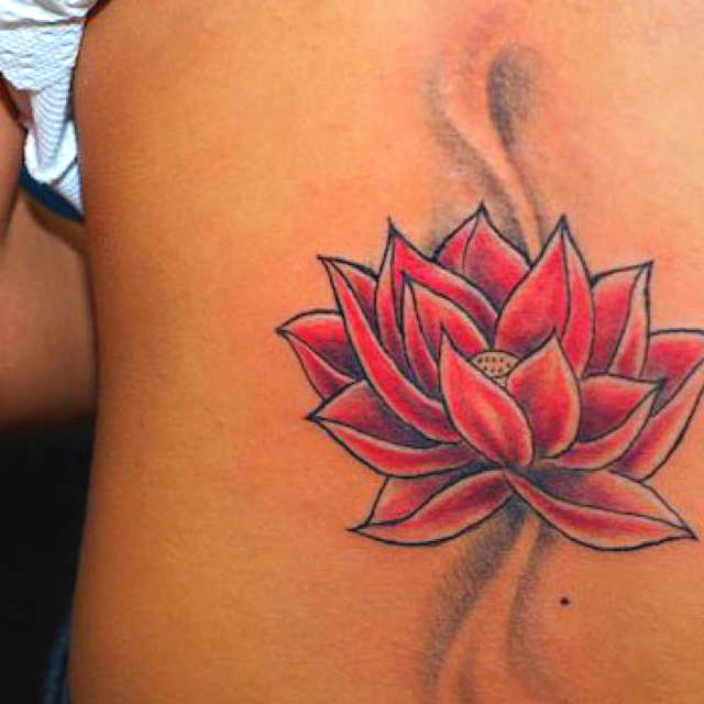 Red Lotus Flower Tattoo Tattoomagz Tattoo Designs Ink Works
