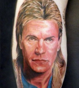 Richard Dean Anderson famous people tattoo