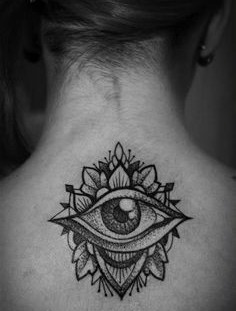 Simple eye tattoo