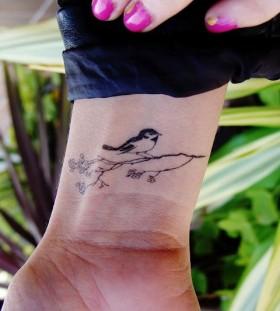 Small bird cool tattoo