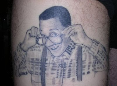 Famous people portrait tattoo
