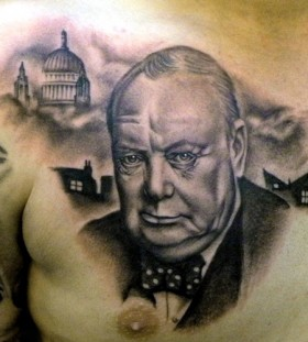 War american president tattoo