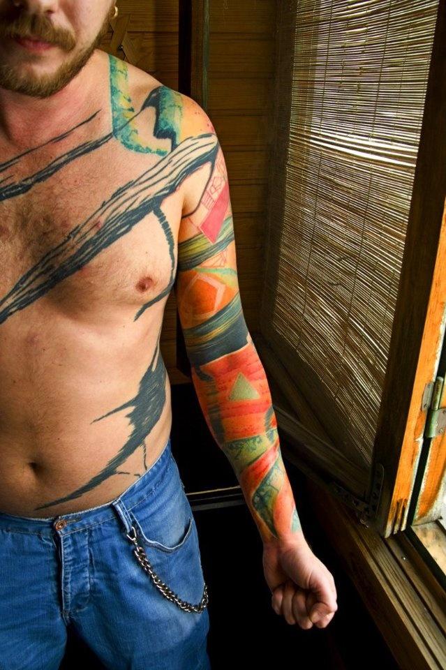 Grisha Maslov tattoo