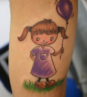happy baby tattoo