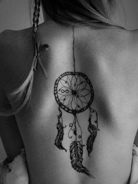 Awesome dream catcher tattoo