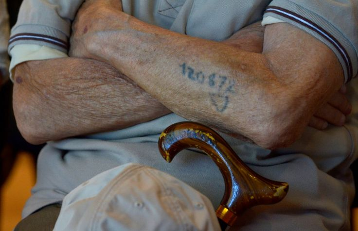 Awesome men's number tattoo on arm