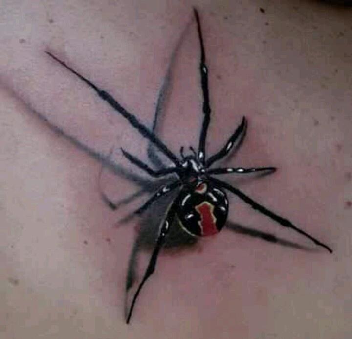 Black Widow tattoo
