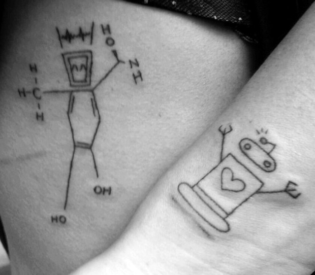 Black adrenaline formual tattoo