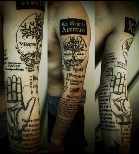 Black tree incredible tattoo