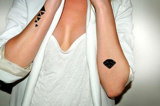 Black triangles tattoo