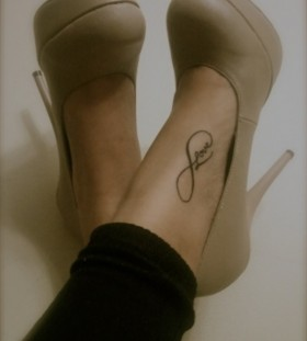 Cute shoes lovely tattoo