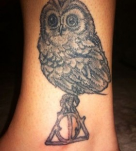 Grey owl incredible tattoo