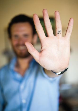8fc048c32407f K letter tattoo on finger - | TattooMagz › Tattoo Designs / Ink ...