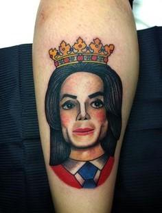King of Pop tattoo