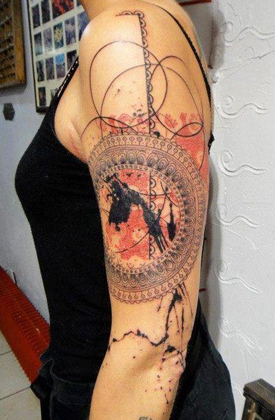 Pretty ornaments tattoo by Xoil