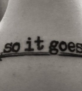 So it goes incredible tattoo
