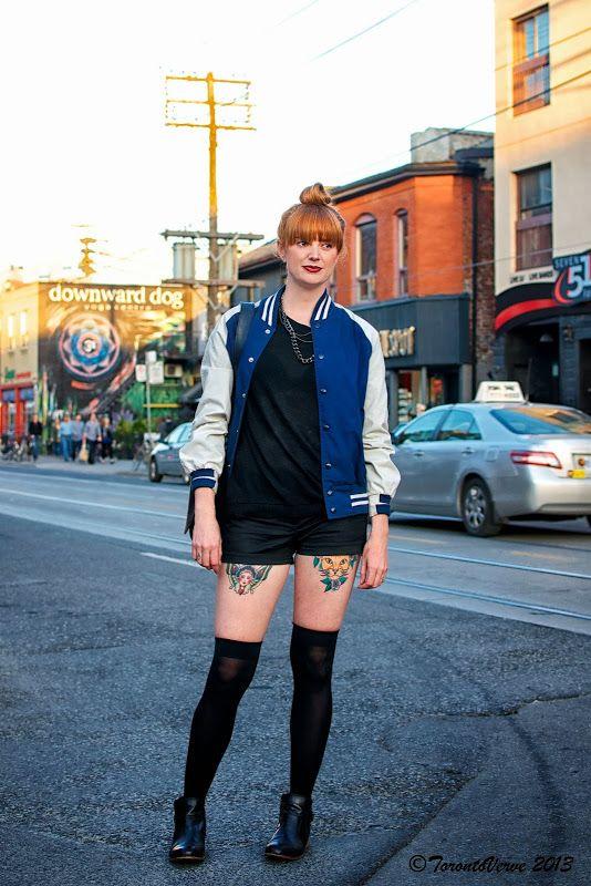 Stylish girl face tattoo on leg
