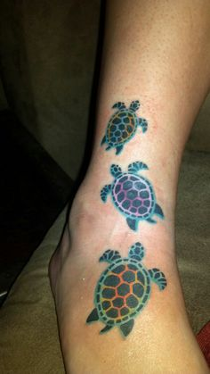 Awesome turtles tattoos