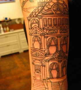 Kai Smart black house tattoo