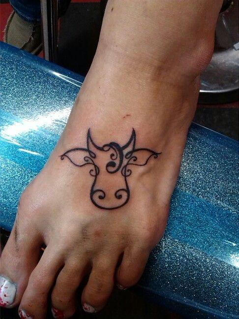Cute cows tattoos