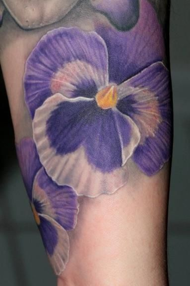 Cool purple tattoos