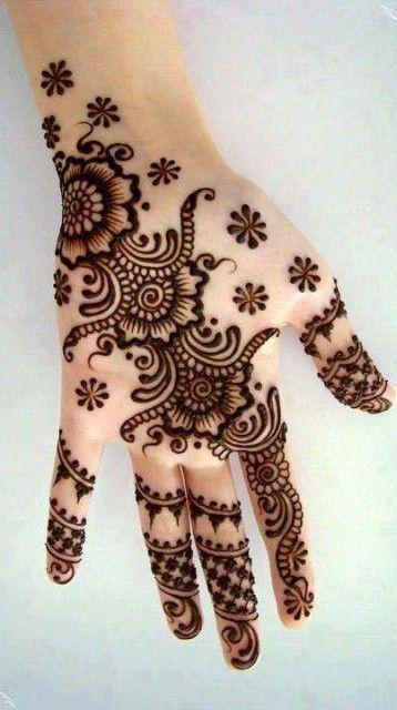 Henna and Mehndi design tattoos