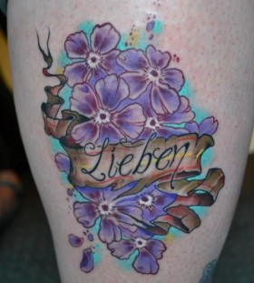 lieben lilac tattoo