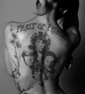 the doors jim morrison tattoo