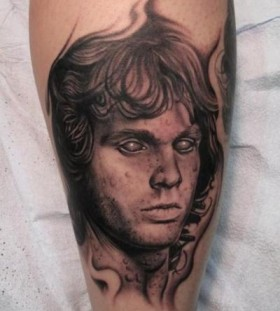 zombie jim morrison tattoo