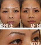 Beauty 3D Hollywood Eyebrow Tattoo Ideas