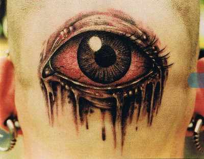 Eyes 3d Tattoos Design